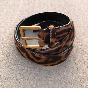 🐆🐆 YSL Leopard Belt